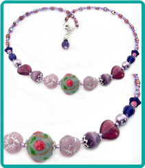 Purple Princess Necklace