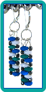 Zig Zag Bricks Contemporary Handcrafted Earrings