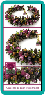 Cyclamens and Loam Crystal Fringe Bracelet
